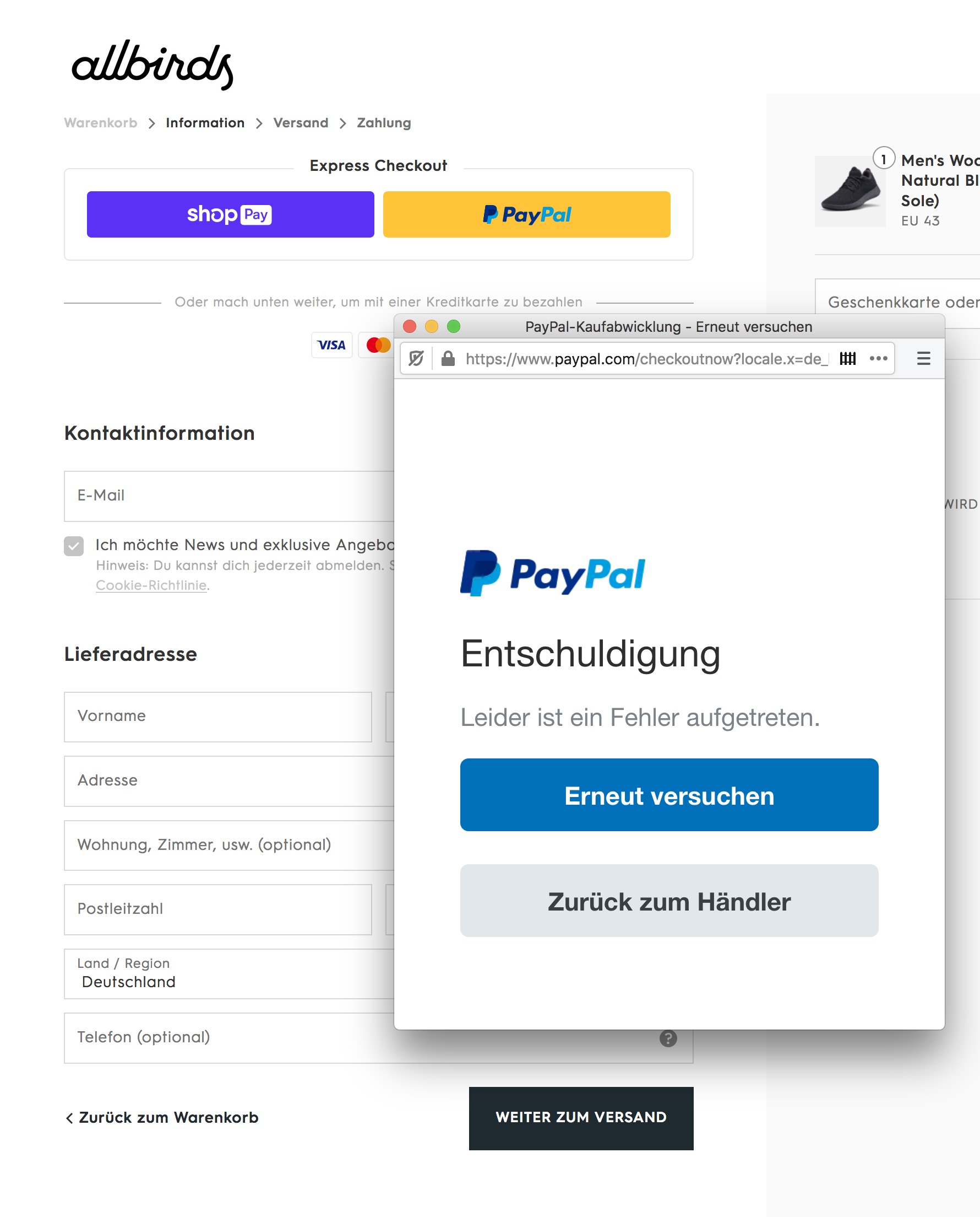 Mit Pay Pal Bezahlen