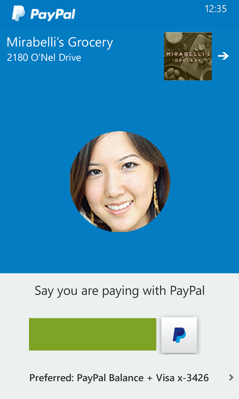 PayPal App for Windows Phone revamped with in-store payments and order ahead