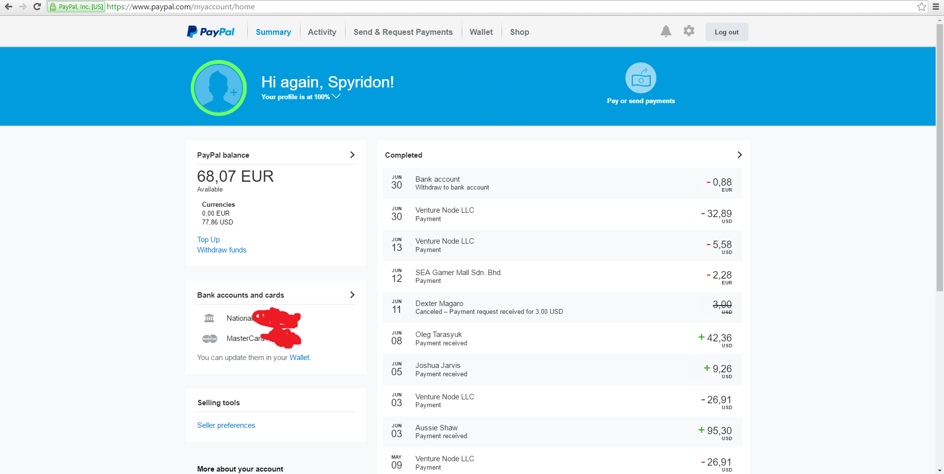 Paypal Help Usa Someone Sent Me Money And I Have Not Recieved It Paypal