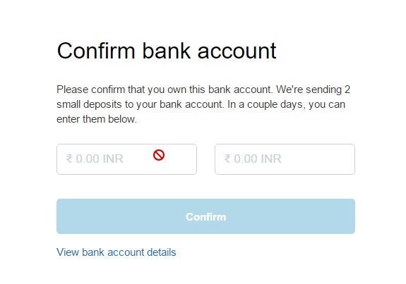bank blocked my account