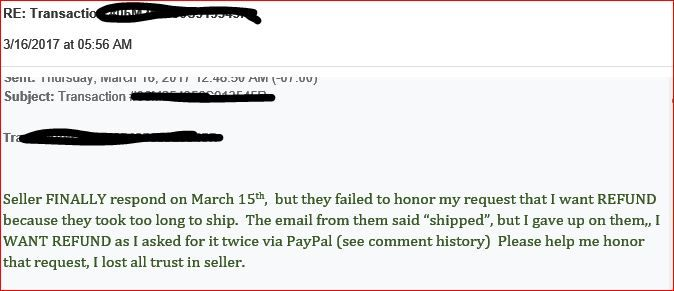 how to send a refund with paypal