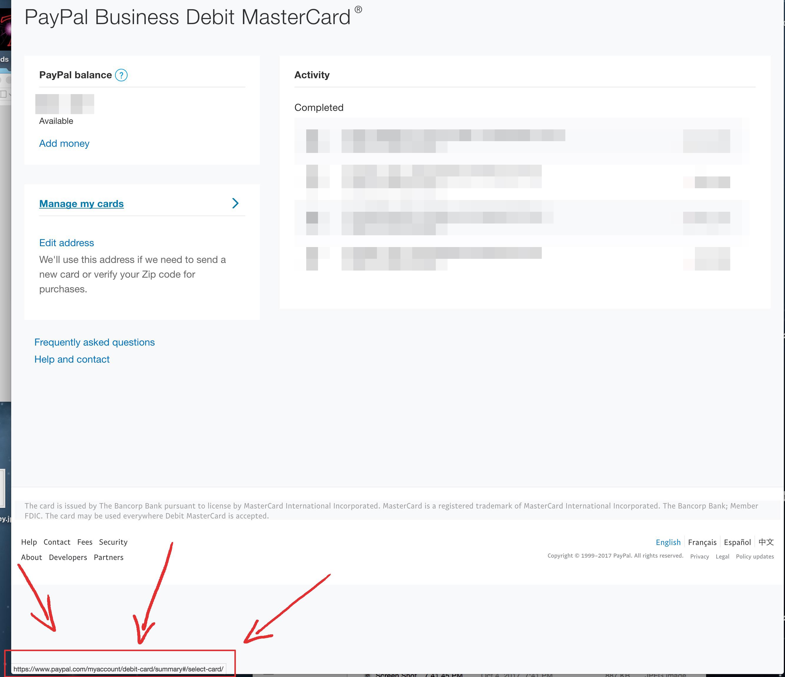 Famous Paypal Business Debit Card Photos - Business Card Ideas ...