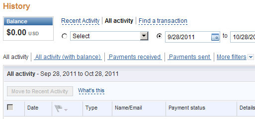 how to pay a balance on paypal