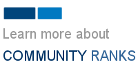 What are Community Ranks?