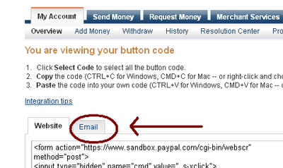 Convert Payment Button From HTML to a LINK? - PayPal Community