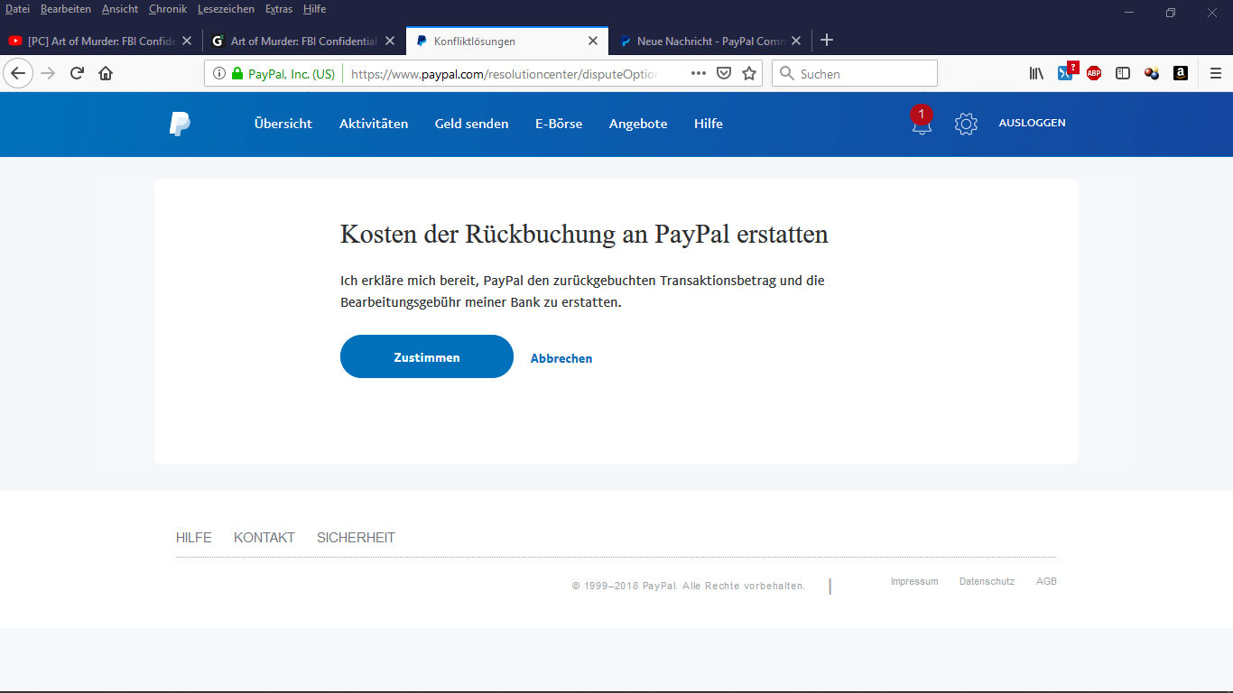 Paypal Konto Suchen