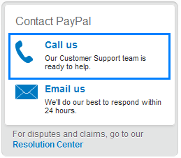 paypal support