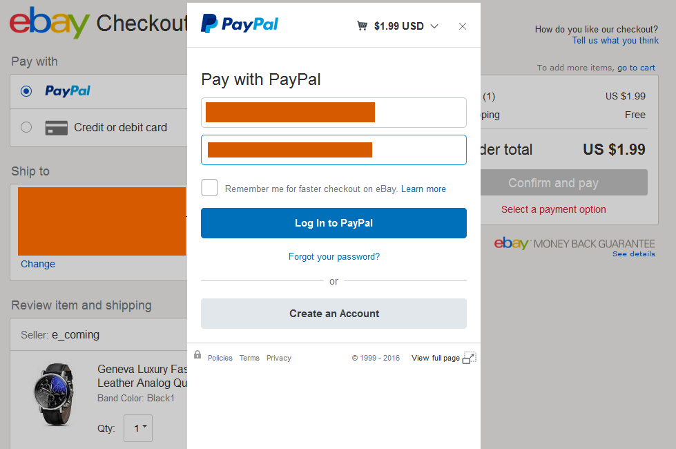 Paypal Currency Conversion Checkou