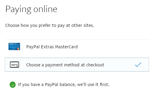 Solved: PayPal not using my PayPal balance for payments an