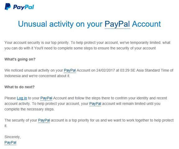 scam alert!! - PayPal Community