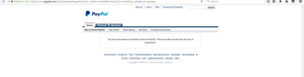 Cant access the balance manager - Page 6 - PayPal Community