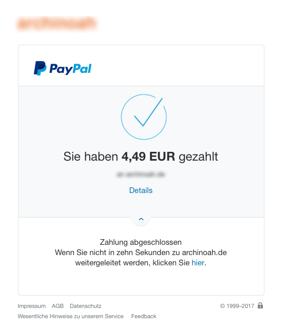 how to cancel completed paypal payment