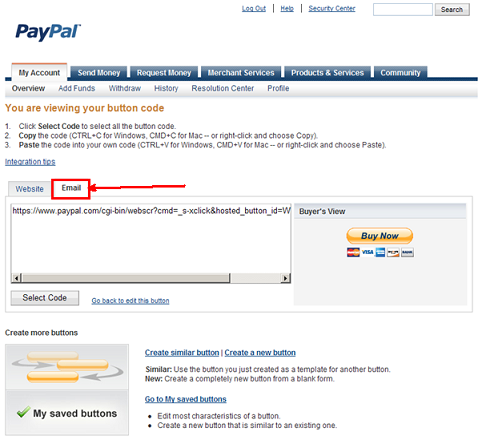 constant contact pay pal paypal community