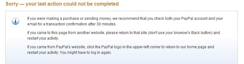 Paypal Problem Klären