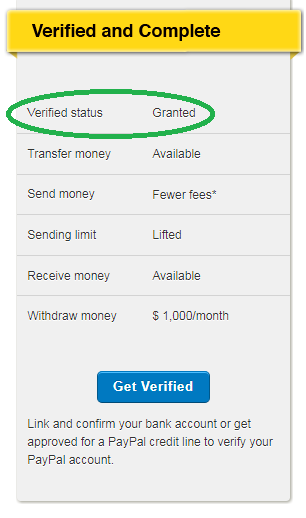 Solved: Why Not Get Verified With a Credit Card? - PayPal