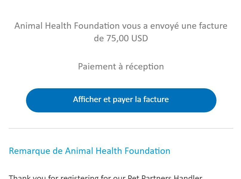 Invoice Switches To FRENCH Language PayPal Community - Invoice in french