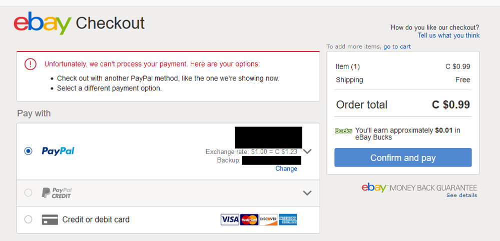Ebay Paypal Issues Png