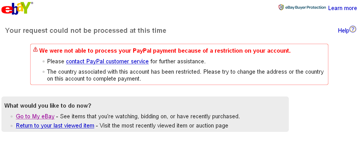 Sudden Restrictions On My Account Paypal Community