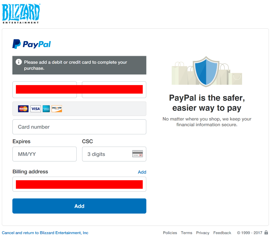 Cancel paypal auto payments