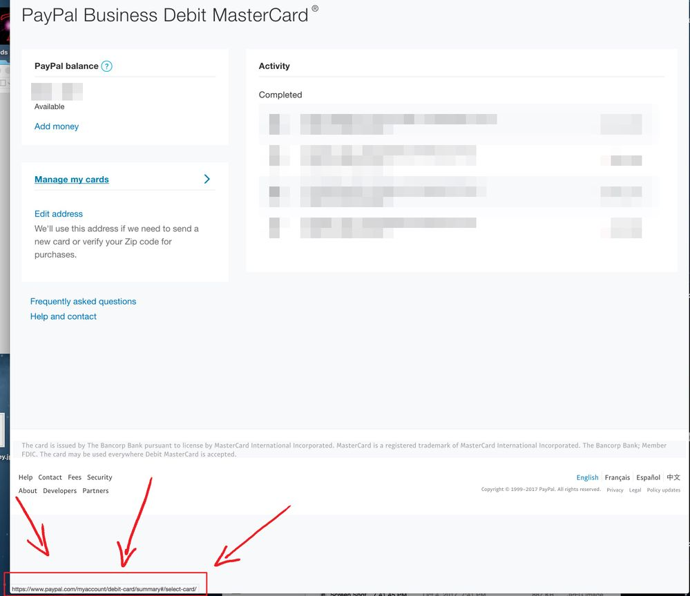 Cannot activate my new PayPal Business Debit Card - Page 2 - PayPal ...