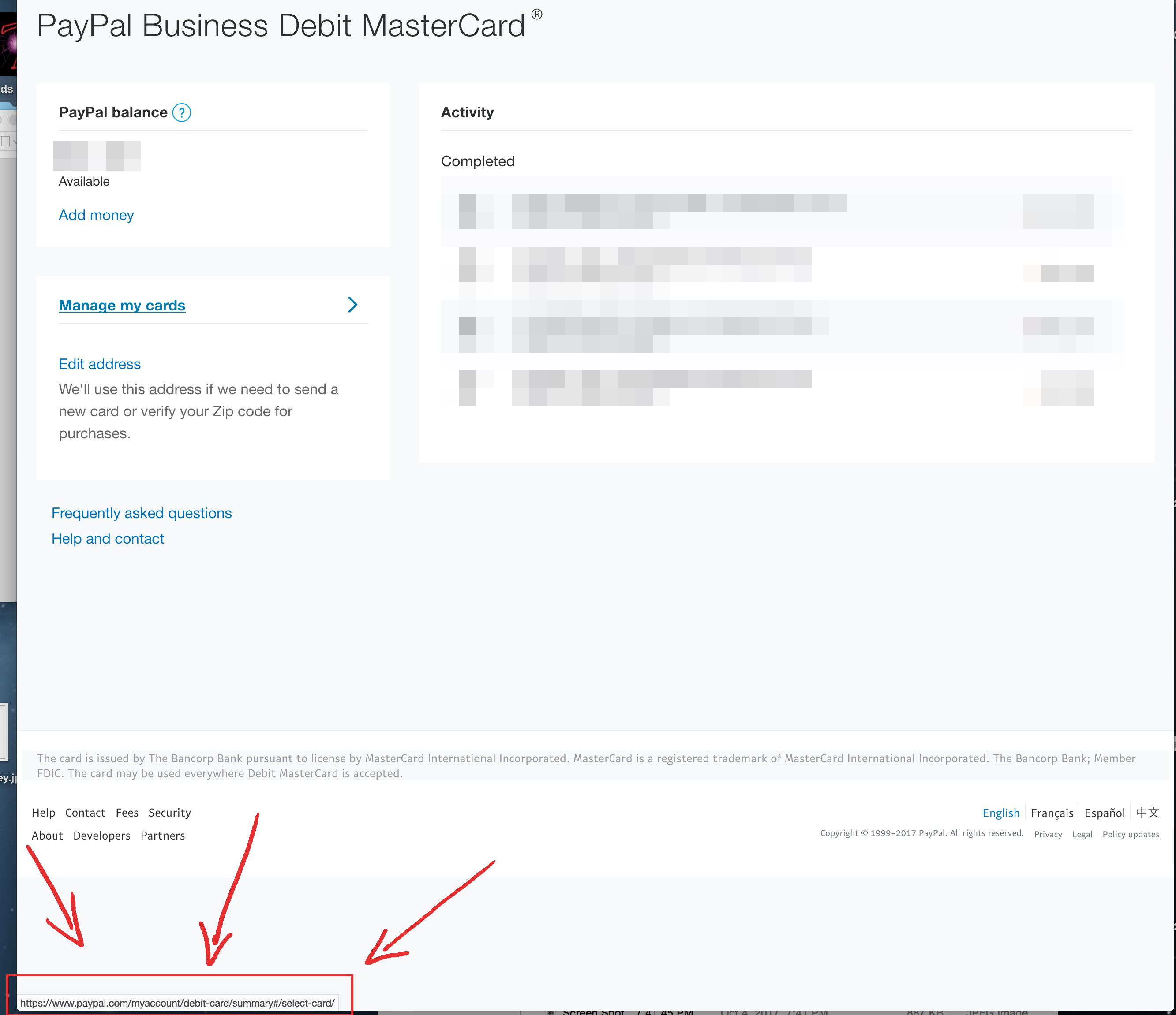 Cannot activate my new PayPal Business Debit Card - PayPal Community