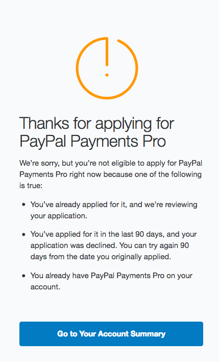 Solved: Shopify Paypal Payflow Pro -- Invalid merchant inf