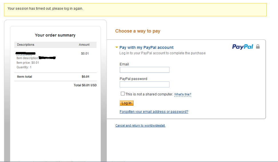 Solved: Paypal Express Chekout Integeration with Shopify g