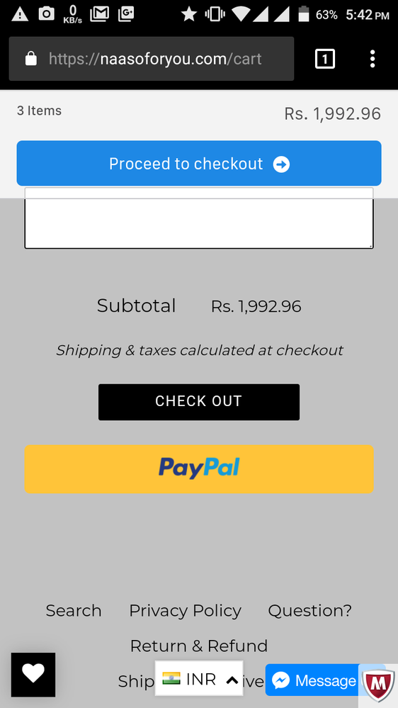 Paypal Express Checkout Not Working Properly - PayPal Community