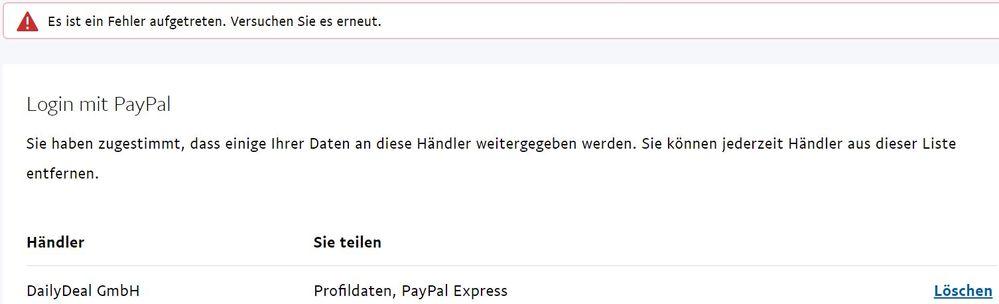 paypal email adresse kontakt