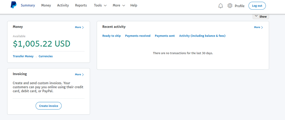 Not Receipts Merchant In Shown - Sandbox Paypal Community Dashboard