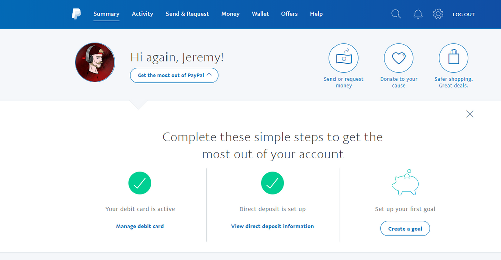 How do I find the account number and routing numbe... - PayPal Community