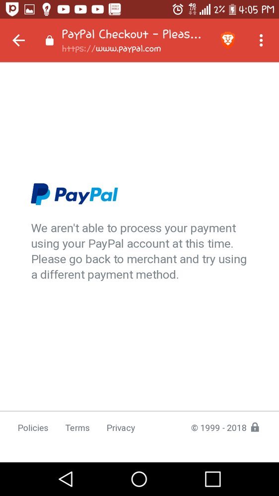 Can't receive money - PayPal Community
