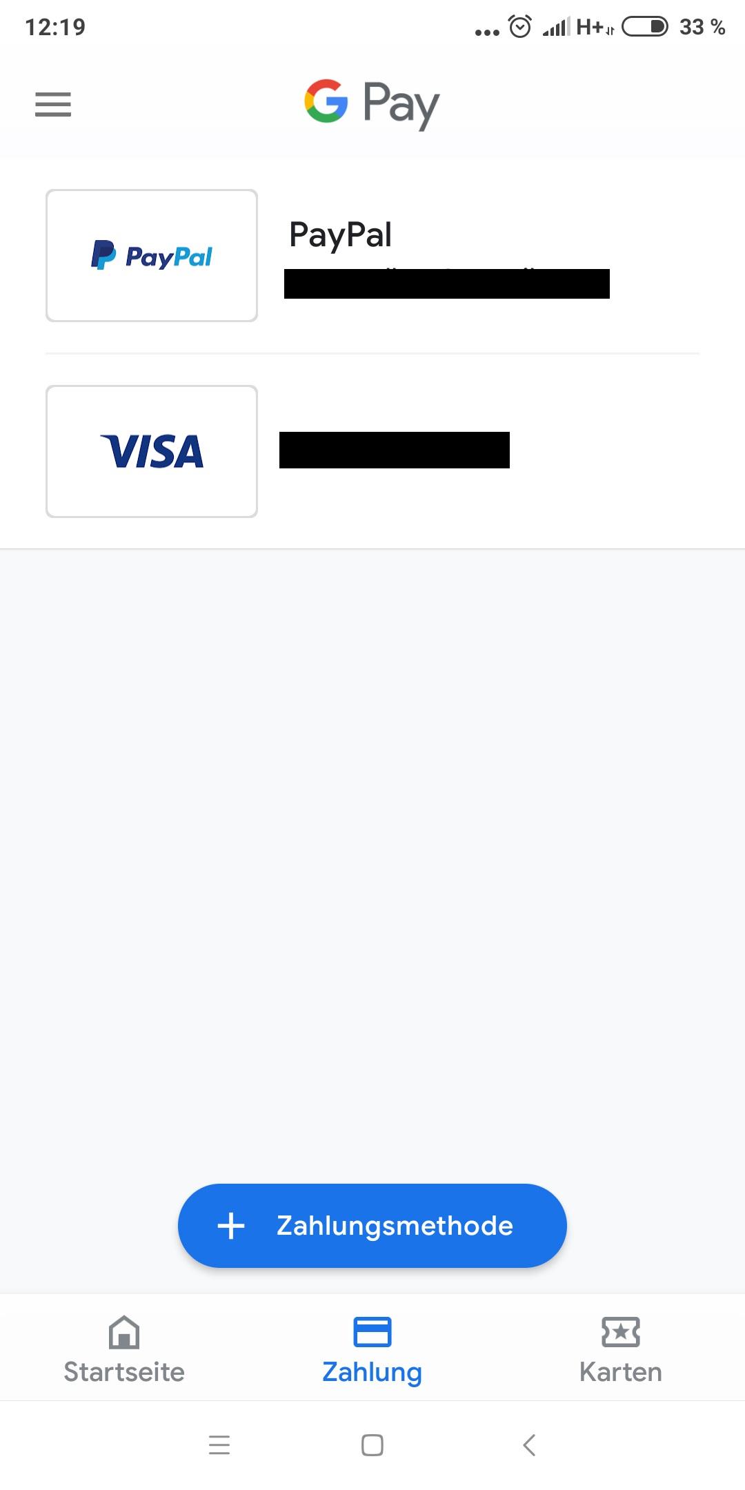 Paypal Bankkonto Kann Nicht HinzugefГјgt Werden