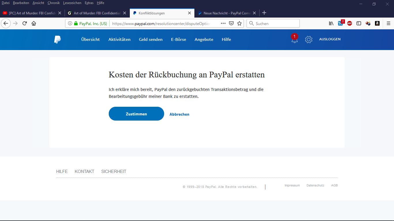 Geld Auf Paypal Konto überweisen Kosten