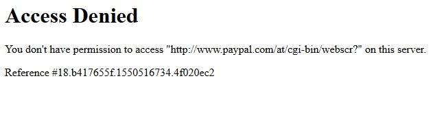 Keine Reaktion Auf Emails Bei Kontoeinschrankung Paypal