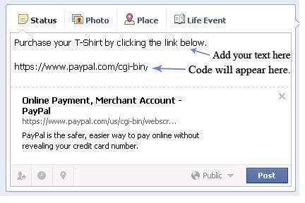 Pasting PP button on FB status.jpg