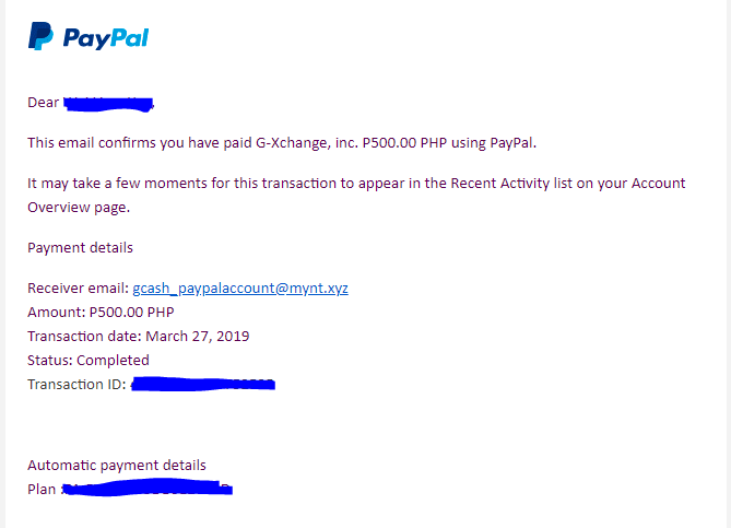 Solved: From Paypal to Gcash - PayPal Community