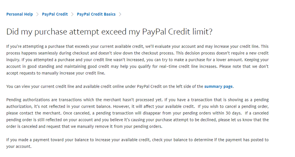 Paypal Purchase and CLI - PayPal Community